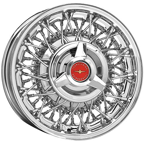 Coker Tire TB56412312D 15x6 Thunderbird Wire 5x4 1/2