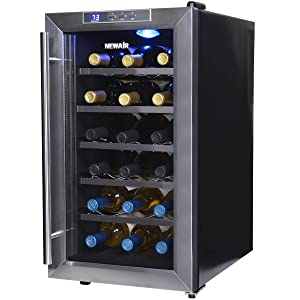 NewAir AW-181E Space Saver 18 Bottle Thermoelectric Wine Cooler