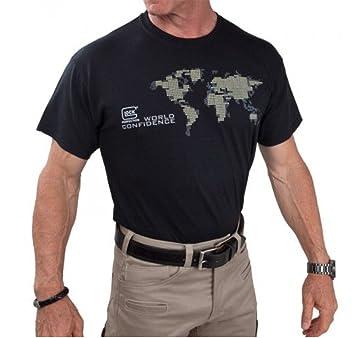 Amazon glock world map t shirt t1339 m sports outdoors glock world map t shirt t1339 m gumiabroncs Gallery
