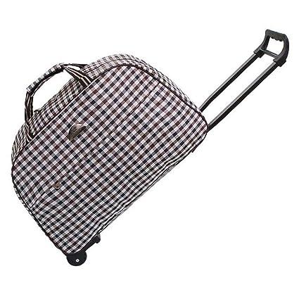 c1c795da50d1 Amazon.com: Minmin-lgx Luggage Rolling Duffle Trolley Bag Travel Bag ...
