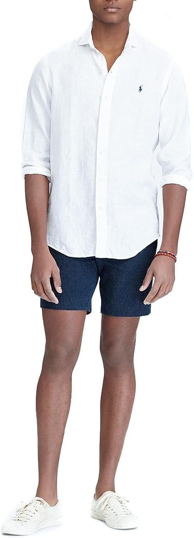 Ralph Lauren Camisa Polo Sport Shirt Blanca: Amazon.es: Ropa ...