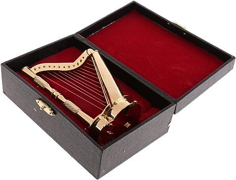 1//6 Action Figures Dollhouse Accessory Instrument Decor Guitar//Violin//Harp Model