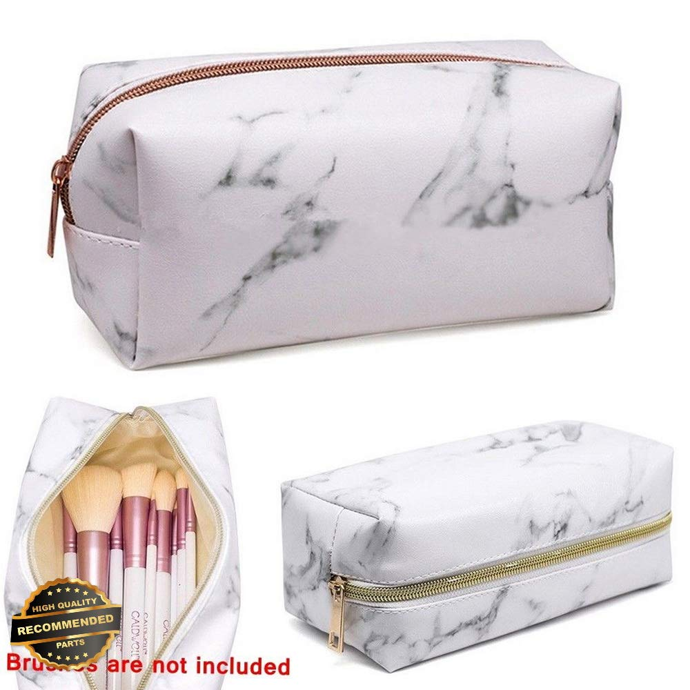 231fba63accd Amazon.com : Gatton Marble Purse Box Travel Makeup Cosmetic Bag Case ...