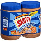 Skippy Natural Super Chunk Peanut Butter Spread (40 oz., 2 pk.)