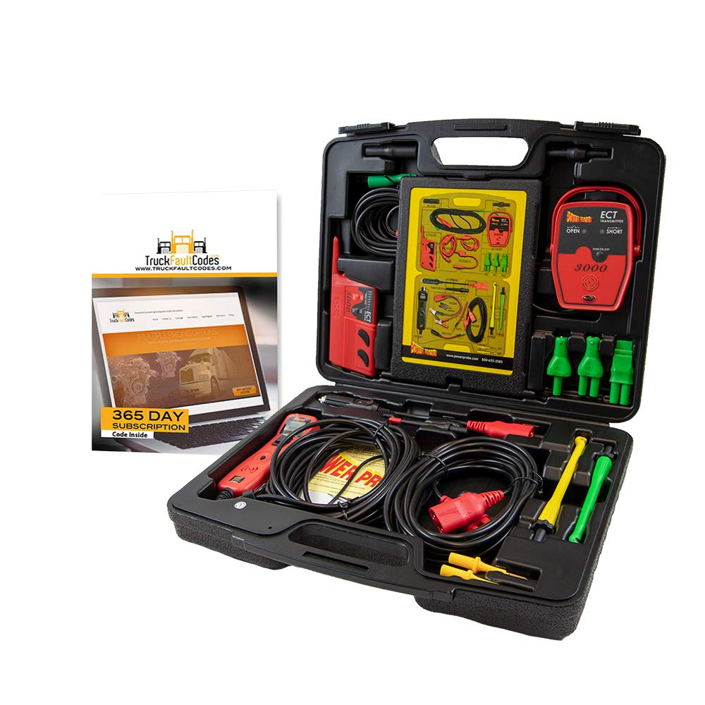 Diesel Laptops Power Probe 3 (III) Master Combo Kit with 12-Months of Truck Fault Codes by Diesel Laptops (Image #2)