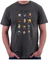 Dr Who Regeneration Mashup Inspired Funny Unisex Men/'s Comedy Navy T-Shirt More