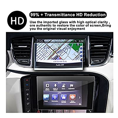 2020 QX50 2016 2020 2020 Q60 Q50 Interior Center Stack Touchscreen Car Display Navigation Screen Protector, R RUIYA HD Clear Tempered Glass Protective Film Against Scratch High Clarity: GPS & Navigation