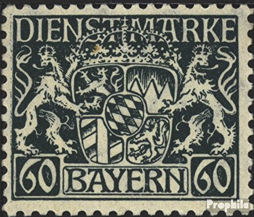 precio al por mayor Prophila Prophila Prophila sellos para coleccionistas  Baviera d23w examinado, papel de paz y engomado de paz con charnela 1916 Emblema del Estado de  70% de descuento