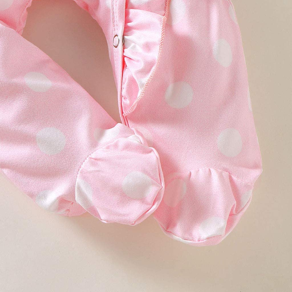 Set Headband Sleeper  Clothes Newborn Outfits Footed Boy Infant Baby Romper