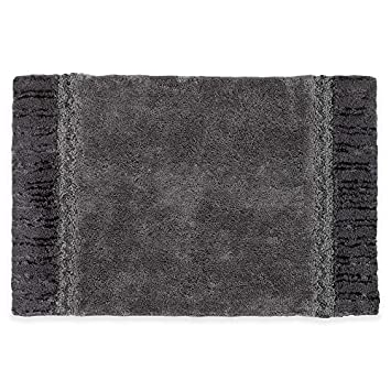 Avanti Linens Braided Cuff FINGERTIP Granite Towel