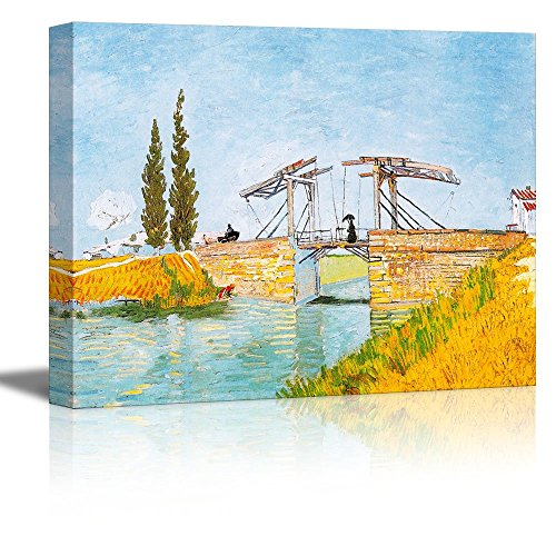 Langlois Bridge at Arles by Vincent Van Gogh Oil Painting Reproduction