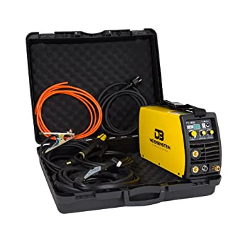 Soldador inverter 180 A DC Wig/TIG/MMA Incluye maletín: Amazon.es: Bricolaje y herramientas