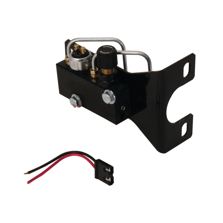 Speedway Motors Adjustable Proportioning Valve Block, Brake Distribution System-Chrome