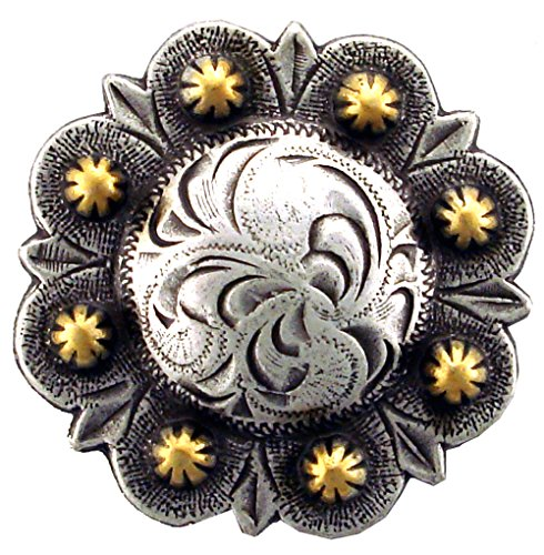 - BS9163-2-SRTPGP Antique silver and gold plated 1.5
