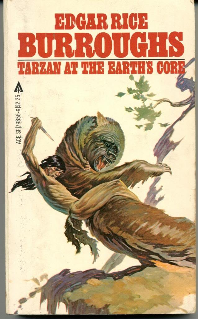 Tarzan At Earth Core, Rice Burroughs, Edgar