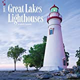 img - for Lighthouses, Great Lakes 2017 Square (Multilingual Edition) book / textbook / text book