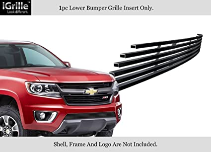 Amazon Com Aps For 2015 2019 Chevy Colorado Stainless Steel Black
