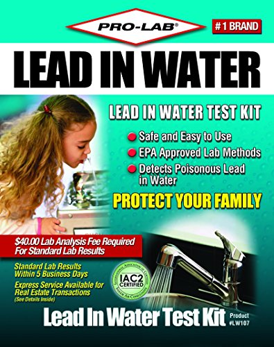 Professional Lead In Water Test Kit Clamshell