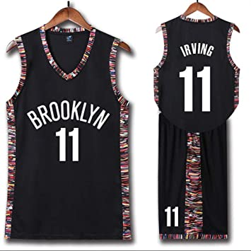 new product 5164e 5de86 WSAYY Brooklyn Nets 7and11 Basketball Uniform,Kevin Durant ...