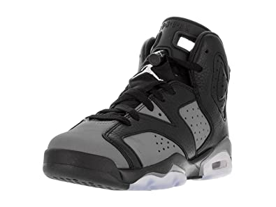 separation shoes 9391b e5f3f Nike Air Jordan 6 Retro BG  Cool Grey  Basketball Shoes Sneaker Black Gray