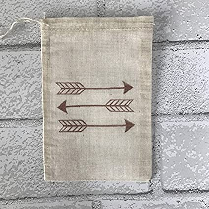 Arrow Favor Bags Boho Party Bags Baby Shower Wedding Welcome Gift Bag Rustic Country Birthday Bachelorette Bohemian Candy Treat Goodie Bag
