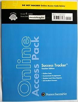 Scott Foresman Reading Street Grade 4 Online Access Pack Success