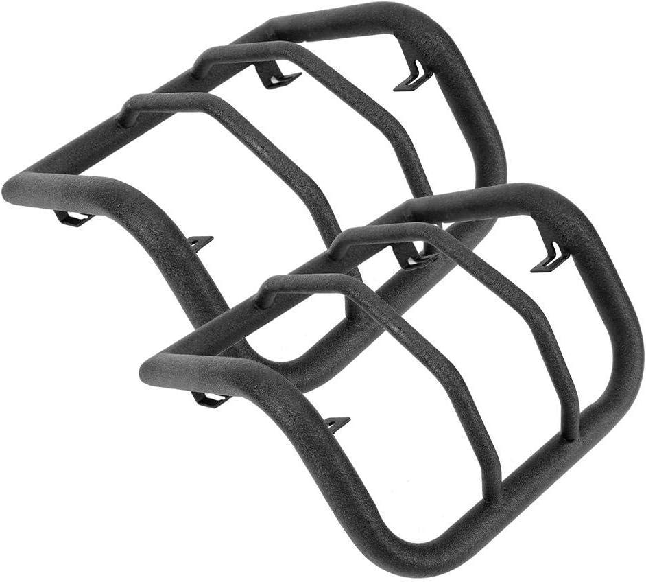 EBTOOLS 1 paire de capots de protection de feux arri/ère en acier noirs pour Protecteur Wrangler JK /& Unlimited 2 portes et 4 portes 2007-2017