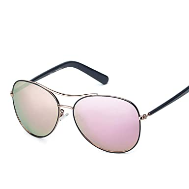 Amazon.com: Sunglasses Women Fashion Gold Frame Classic ...