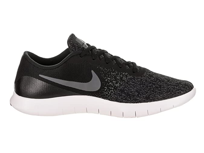 Amazon.com | Nike Flex Contact Sz 13 Mens Running Black/Dark Grey-Anthracite-White Shoes | Road Running