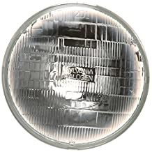 "SYLVANIA H6024 Basic Halogen Headlight Bulb (7"" Round) PAR56, (Pack of 1)"