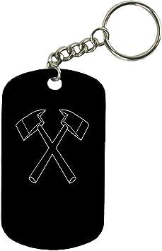 100 Stainless Steel GI Dog Tag keychain bottle opener