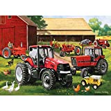 MasterPieces Case/IH Legacy of Farmall  - Old & New Tractors 1000 Piece Jigsaw Puzzle by Charles Freitag