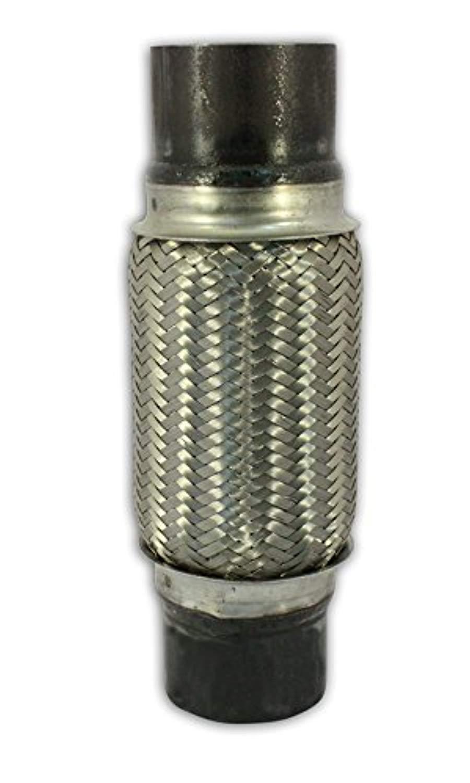 Remarkable Power RK7551-3 x 8 Heavy Duty Stainless Steel Exhaust Flex Pipe 12 OL