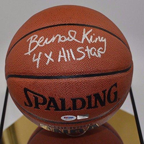Bernard King Autographed Basketball Knicks - PSA/DNA Certified Sportsmemorabilia