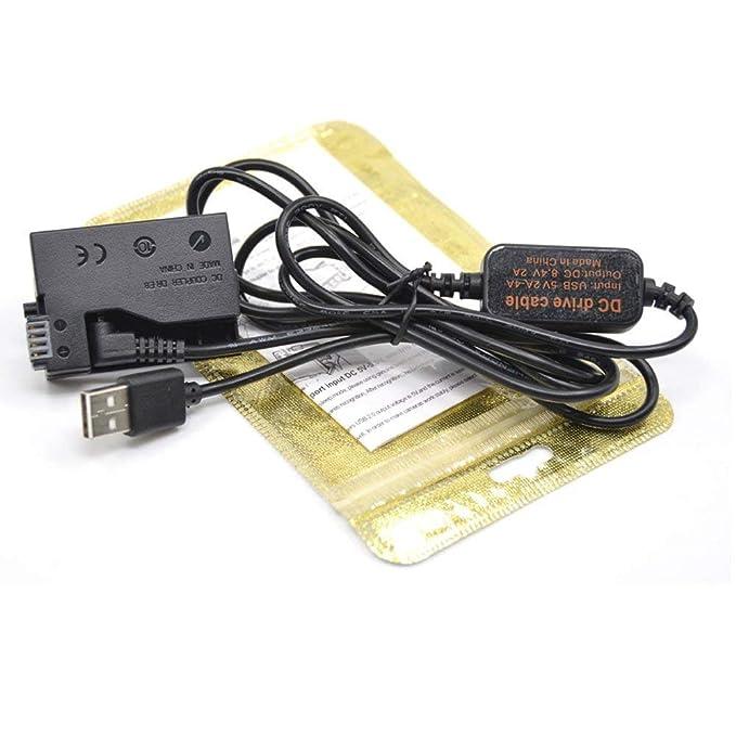 DC Coupler für Canon ACK-E8 DR-E8 ACK-E8 Strom Lade Kabel Netzteil AC Adapter