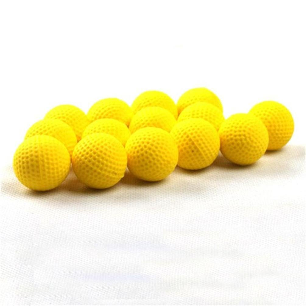 Matoen 10Pcs Bullet Balls Rounds Compatible For Nerf Rival Apollo Child Toy(yellow)