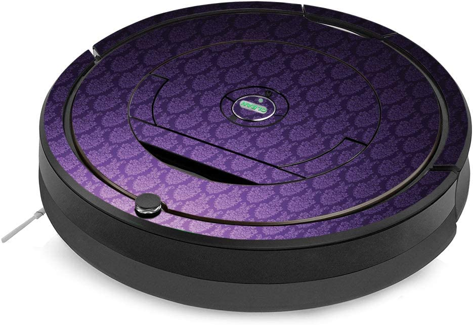 MightySkins Skin Compatible with iRobot Roomba 890 Minimal Coverage Vacuum - Antique Purple | Protective, Durable, and Unique Vinyl Decal wrap Cover | Easy to Apply, Remove | Made in The USA