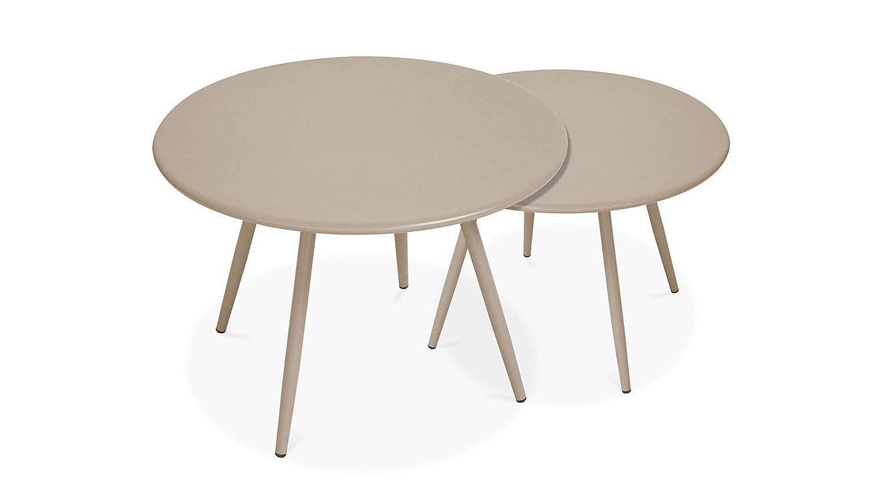 Palavas Oviala Tables Basses de Jardin gigognes