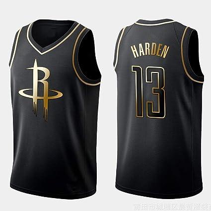 YIXUAN Hombres Jersey Camiseta James Harden # 13 Houston Rockets Swingman Camiseta de Baloncesto