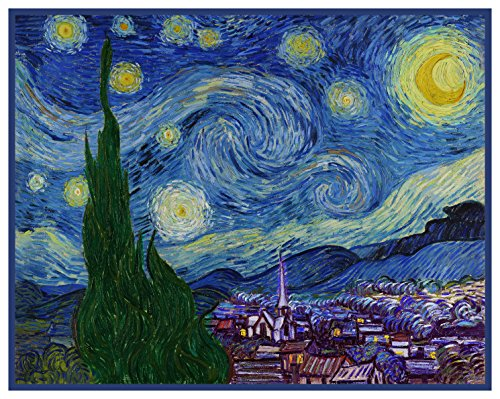Orenco Originals Starry Starry Night by Vincent Van Gogh Cou