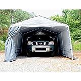 King Canopy SG1327S 13-Feet by 27-Feet Silver StorGuard Heavy Duty Winter Garage, Silver For Sale
