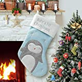 PIKRONSH Christmas Stocking, Newborn Baby 1st Xmas