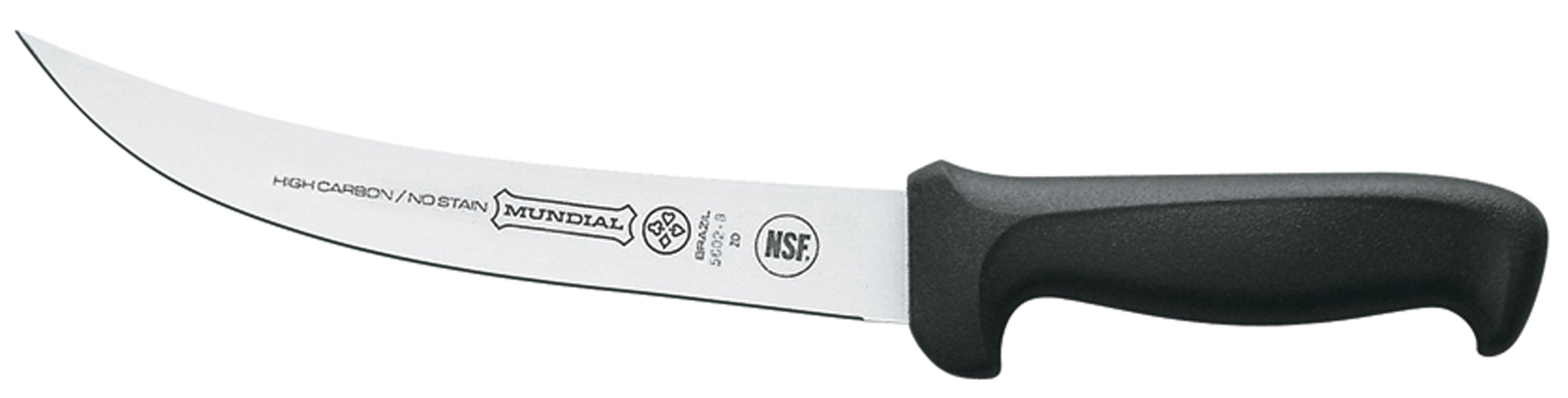 Mundial 5602-8 8-Inch Breaking Knife, Black