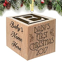 Baby's First Christmas Ornament 2017 - Keepsake...