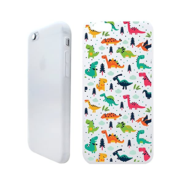 newest 8b56d 0776c Amazon.com: Dinosaur World Slim Iphone 6 Plus 6S Plus Case, Clear ...