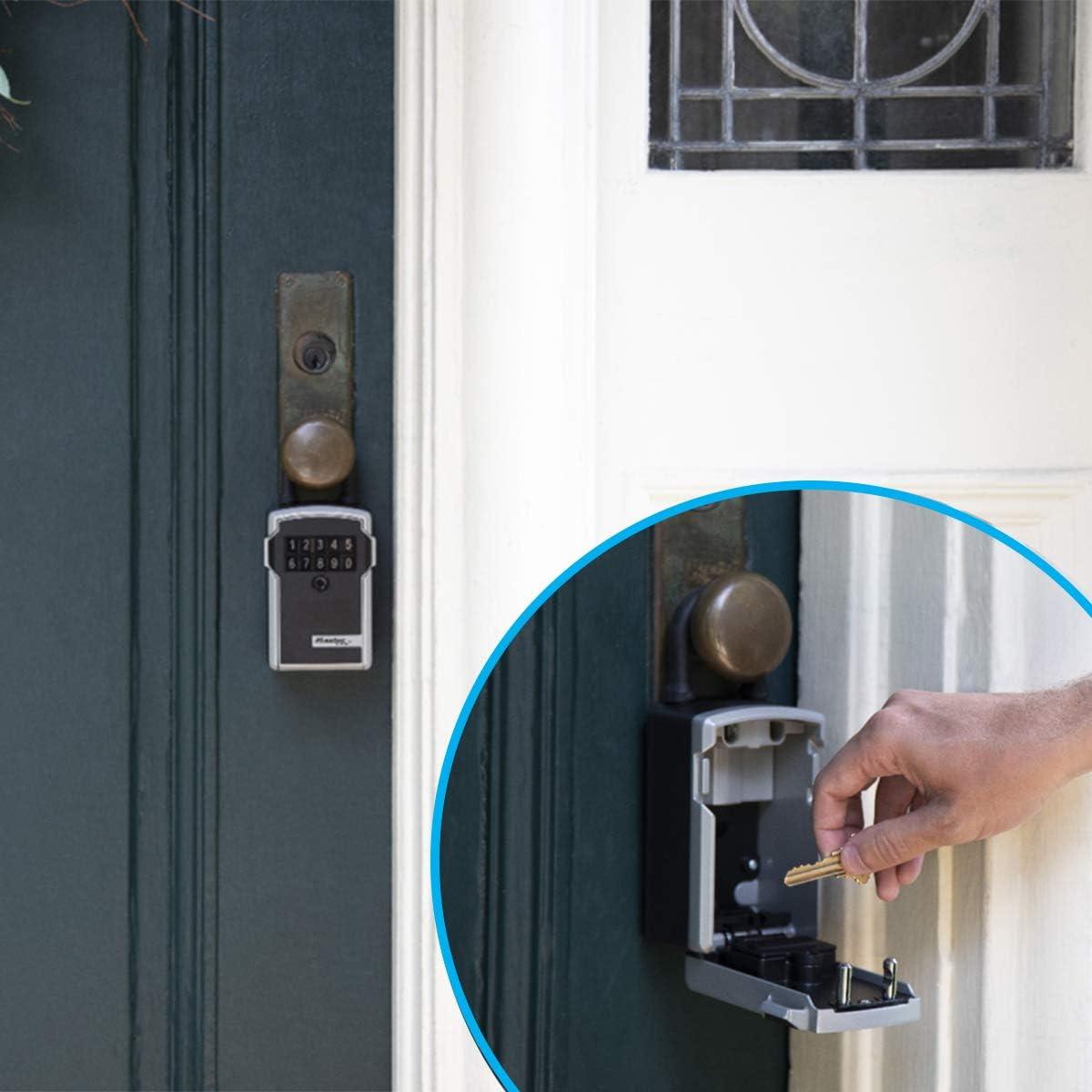 5424EURD Impermeable Con arco MASTER LOCK Caja fuerte para llaves retroiluminada Mediana Caja de seguridad