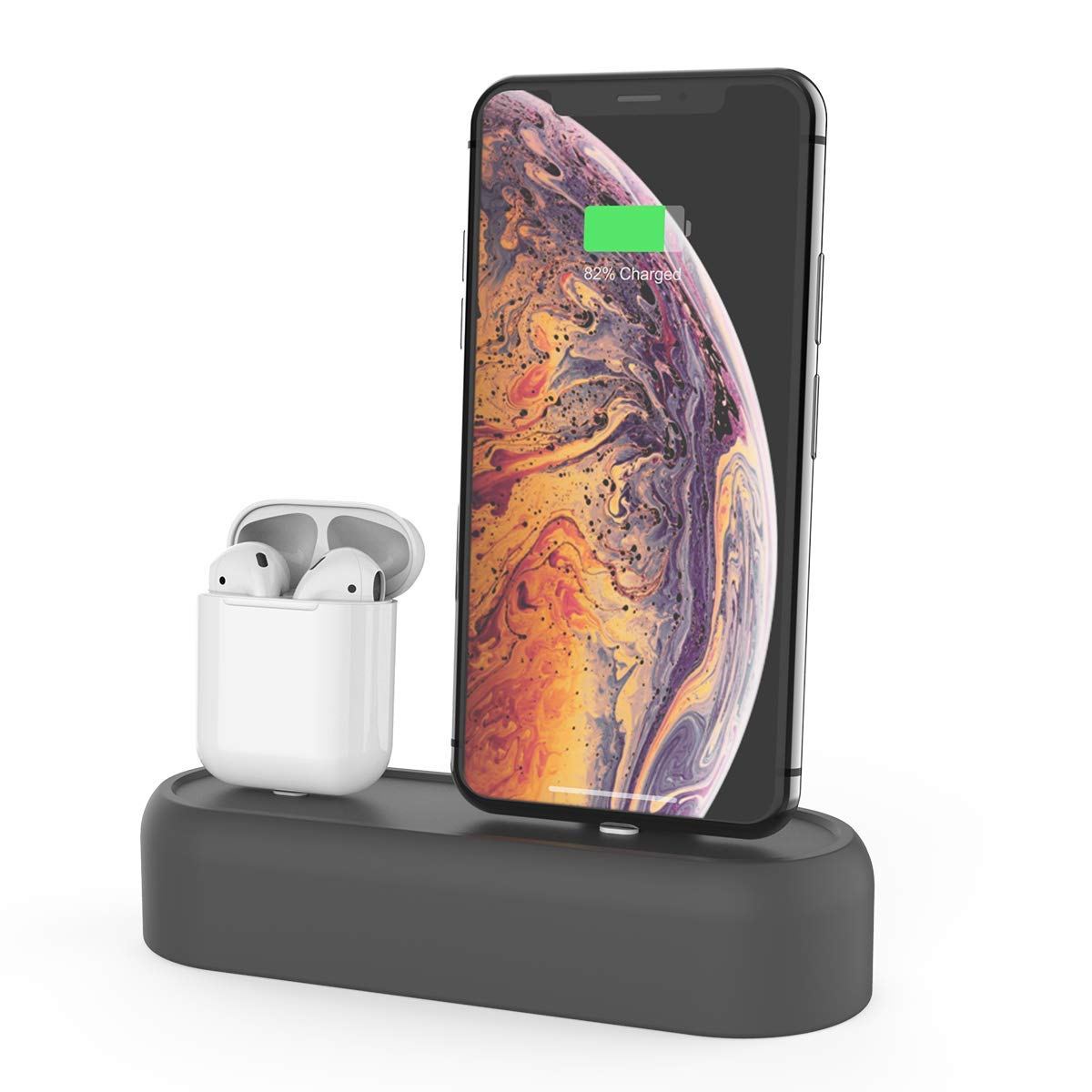 2 in 1 Silicone Charging Dock Stand for