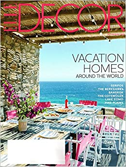 elle decor magazine july august 2018 vacation homes around the