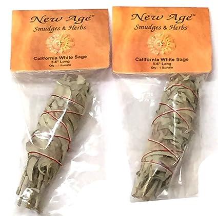 Amazon.com  White Sage Smudge Stick 2-Pack  Home   Kitchen 38e767ca10