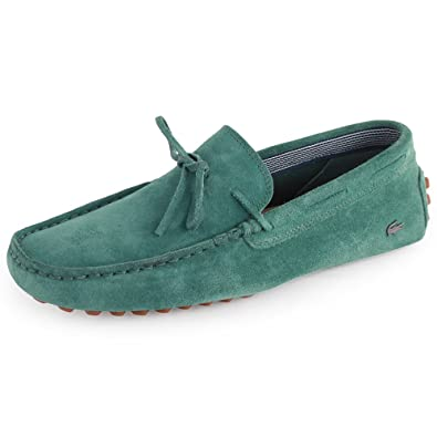 caa9a950d Lacoste Concours Lace 4 Mens Suede Loafers Green 7 UK  Amazon.co.uk  Shoes    Bags